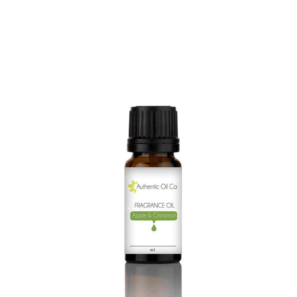 Apple & Cinnamon Fragrance Oil concentrate 10 ml for soap bath bombs and candles cosmetics.. Authentic Oil Co