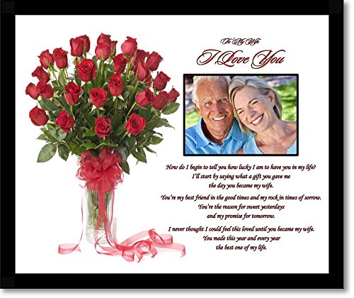 I Love You Gift For Wife Romantic Gift From Husband