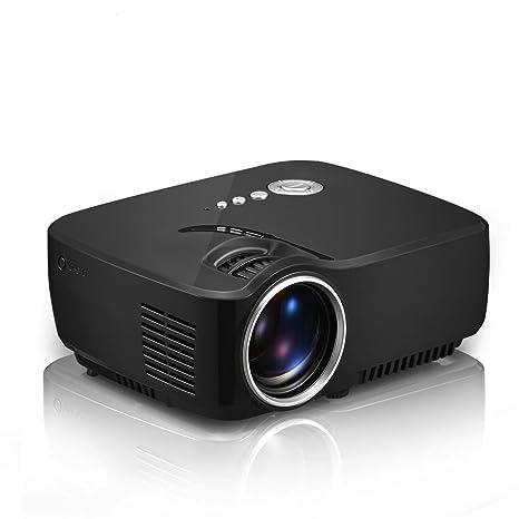 QARYYQ Proyector GP70 Micro Proyector LED. proyector: Amazon ...