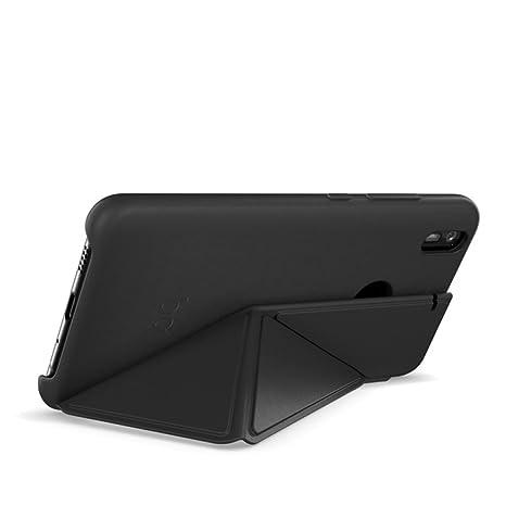 BQ Aquaris X/X Pro Duo Black Case - Funda con Tapa, Color Negro