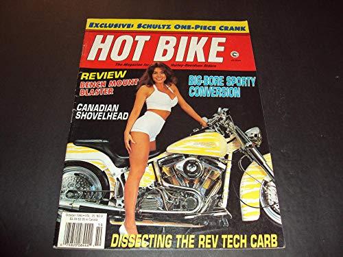 Hot Bike Oct 1993 Schultz One-Piece Cranks, Big-Bore Sporty ()