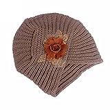 Women Ladies Retro Winter Knit