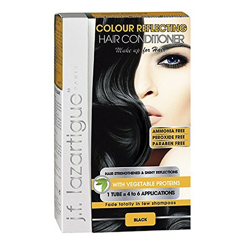 Colour Reflecting Hair Conditionner (Black) by j.f. lazartigue