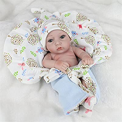 915047b8e4f93 ... Samber Handmade Soft Silicone Newborn Dolls Lifelike Reborn Baby Doll  Rubber Artificial Doll Simulation of Regenerated ...
