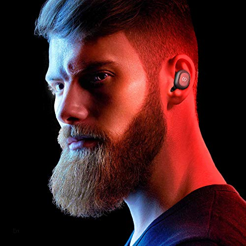 SoundPEATS True Wireless Earbuds 50 Bluetooth Headphones inEar Stereo Wireless Earphones with