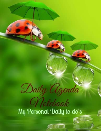 Daily Agenda Notebook: My Personal Daily to do's (Planners Made Easy) (Volume 3) pdf