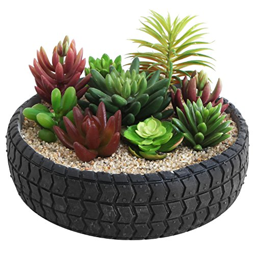 Concrete Round Planter - 5