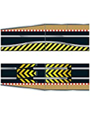 Hornby Scalextric C8511 Track Extension Pack-1x Leap (Ramp Up and Ramp Down) 2 Straight 2 Side Swipes Borders Barriers