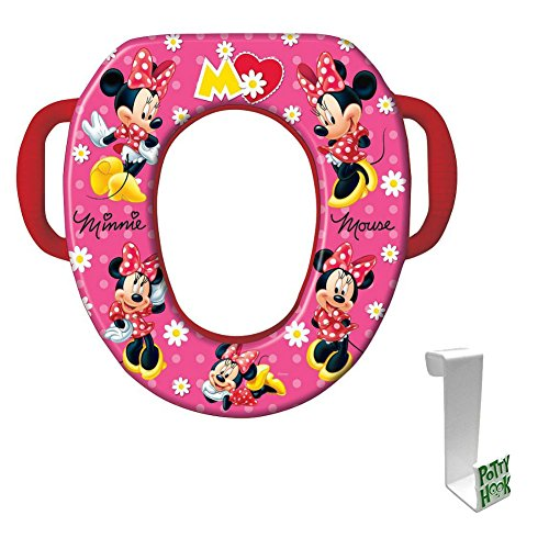 "Minnie Mouse ""Mad About Minnie"" Soft Potty Seat with Toilet"