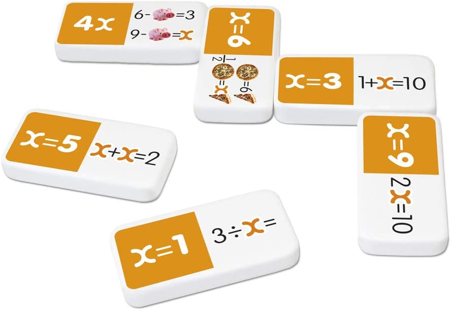 algebra dominoes manipulatives