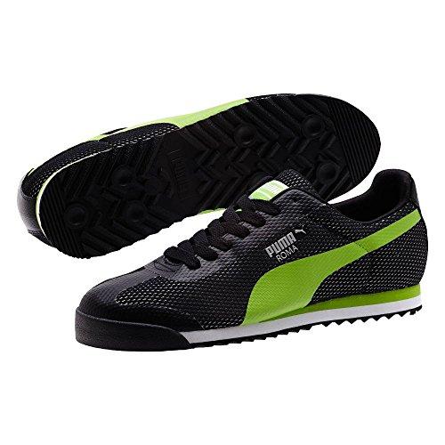cheap geniue stockist finishline cheap price PUMA Men's Roma Black/Jasmine Green/Puma Silver Sneaker u8T5UCNt