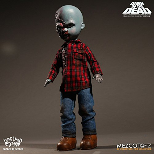 Mezco Living Dead Dolls Dawn of the Dead Plaid Shirt Zombie 10-Inch Doll