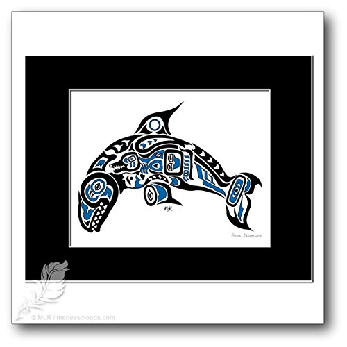 Pacific Dream - Pacific Northwest Tribal Art Style Killer Whale, (Killer Whale Art)