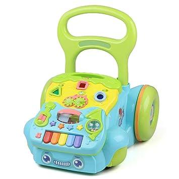 Rabbfay 1Ajustable Altura Bebé Actividad Andadores ...