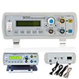 kuman FY2202SP 2MHz Dual Channel DDS Function Signal Generator Sine Square Wave Sweep Counter, Four Pulse Square Columns