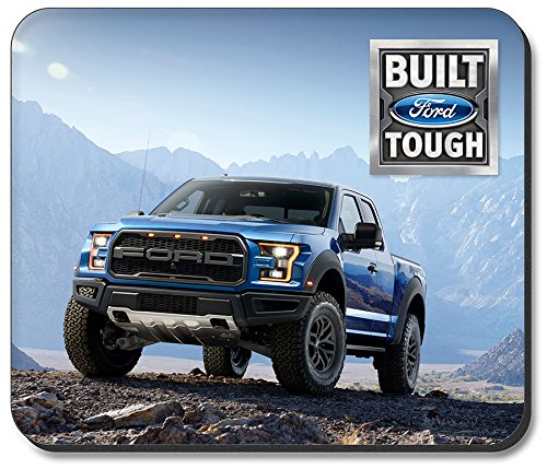 Art Plates brand Mouse Pad - Blue Ford F-150 (Ford Pickup King)