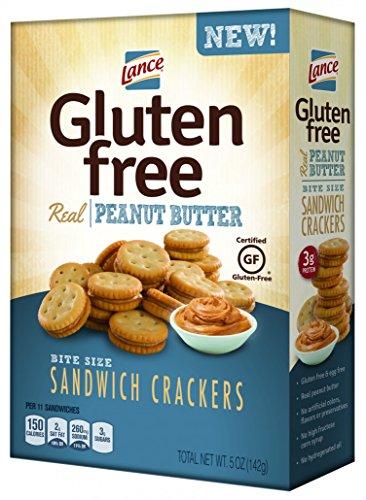 Lance Gluten Free Peanut Butter Sandwich Crackers, 5 (Butter Gluten Free)