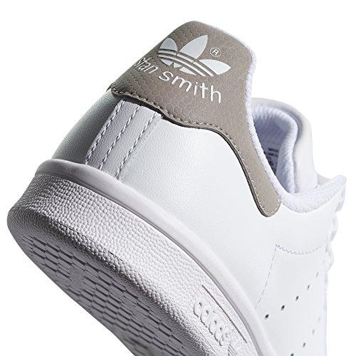 adidas Stan Smith Weiß Schuhe Damen. Sneaker. Low-Top, Trainer Weiß/Reflektierendes Grau