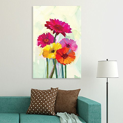 Watercolor Style Colorful Flowers Gallery