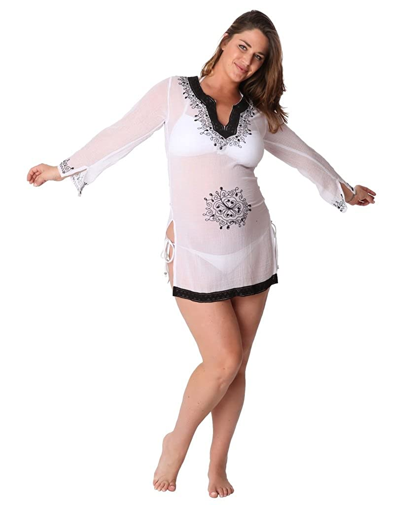Ingear Maternity Embroidered V Neck Tunic