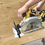 Rapesee Compact Circular Saw 4000rpm/min Max Cutting Depth 52mm at 90°, 36mm at 45° Wood Cutting Tools Electric Hand Cordless Circular Saw