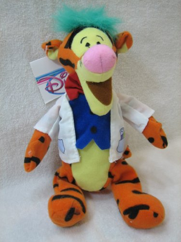 Disney Mini Bean Bag Mad Scientist Tigger 9