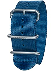 Bertucci DX3 B-110 Mariner Blue 26mm Nylon Watch Band
