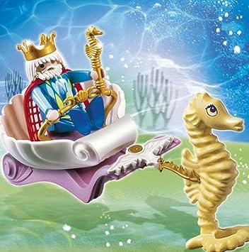 #9 Abenteuer Magic Playmobil Meereskönigin mit Seepferdchen