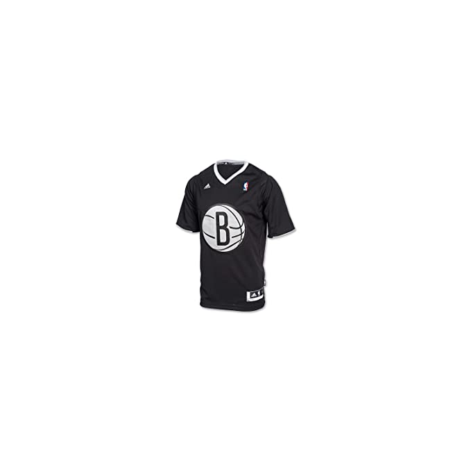 Christmas jersey Black 13/14 Brooklyn Nets Adidas S Black: Amazon.es: Ropa y accesorios