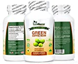800MG Pure Green Coffee Bean Extract with 50% CGA-For Weight Control- 60 VEGGIE CAPSULES- By Wellsome Nutrition