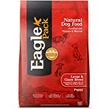 Image of Eagle Pack Natural Dry Large Breed Puppy Food, Lamb, Chicken & Fish, 30-Pound Bag