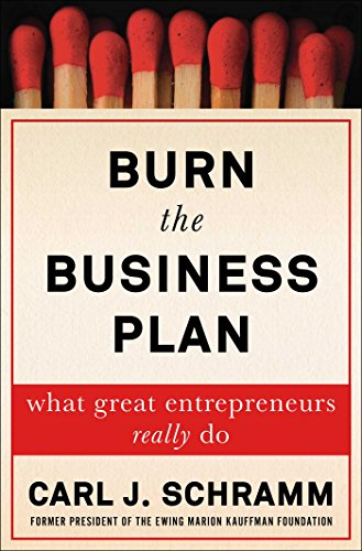 Burn the Business Plan: What Great Entrepreneurs Really - Ray Burn