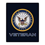CafePress - U.S. Navy Veteran - Soft Fleece Throw Blanket, 50''x60'' Stadium Blanket