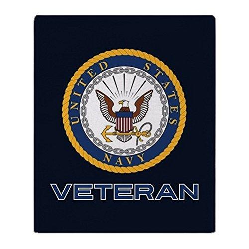 CafePress U.S. Navy Veteran Soft Fleece Throw Blanket, 50