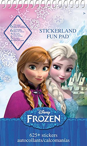 Activity Pads Stickers - Disney - Frozen Toys Decals New st9015