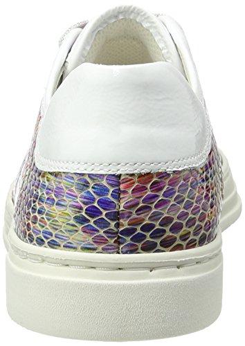 Ara Courtyard - Zapatillas de casa Mujer Mehrfarbig (Silber,weiss/multi)