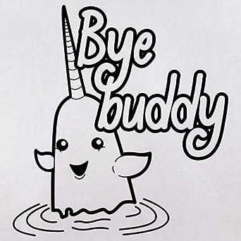 Baby T-Shirt 3-24 Months 8 Colours Dressdown Bye Buddy