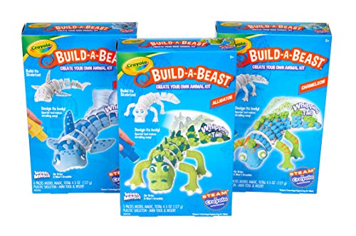 Crayola Build A Beast is a top toy for boys ages 6 to 8
