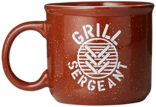 Life is Good Camp Grill Sergeant Mug, One Size, Rusty Copper
