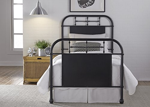 Liberty Furniture 179-BR11HFR-B Vintage Series Twin Bed, 80