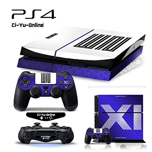 Price comparison product image Ci-Yu-Online VINYL SKIN [PS4] ShoeBox 5 Air Jordan 11 Retro Shoe Box Light Bar Whole Body VINYL SKIN STICKER DECAL COVER for PS4 Playstation 4 System Console and Controllers