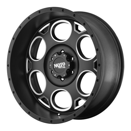 "Moto Metal  MO964 Wheel with Satin Black Milled (18x9""/5x150mm)"