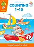 img - for School Zone - Counting 1-10 Workbook - Ages 3 to 5, Preschool to Kindergarten, Tracing, Identifying Numbers, Writing Numbers, Numerical Order, and More (School Zone Get Ready!TM Book Series) book / textbook / text book