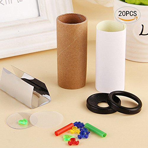 20PCS Nextnol DIY Mini Kaleidoscope For Kindergarten Language Learning, Educational Toys Creative...