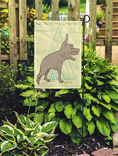 Semtomn Outdoor Decorative Garden Flag Animal Dog Hand Pencil Bone Canine Cute Details Donkey House Yard Flag 28