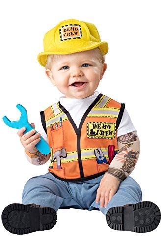 Fun World Baby Boys' Demo Crew Costume, Multi, S