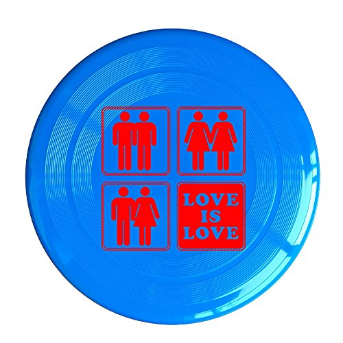 - VOLTE Love Is Love Gay Marriage RoyalBlue Flying-discs 150 Grams Outdoor Activities Frisbee Star Concert Dog Pet Toys