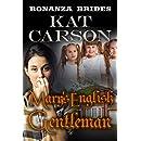 Mail Order Bride: Mary's English Gentleman: Historical Clean Western River Ranch Romance (Bonanza Brides Find Prairie Love Series Book 6)