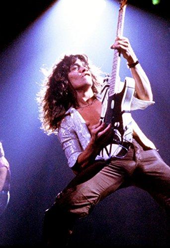 Eddie Van Halen Poster Quality Color Print 1978 Live