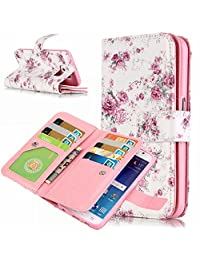 Qissy®Leather Pure color Embossed Pattern protective Case for SAMSUNG GALAXY S6 EDGE
